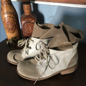 Joe's Jeans leather suede boots 36